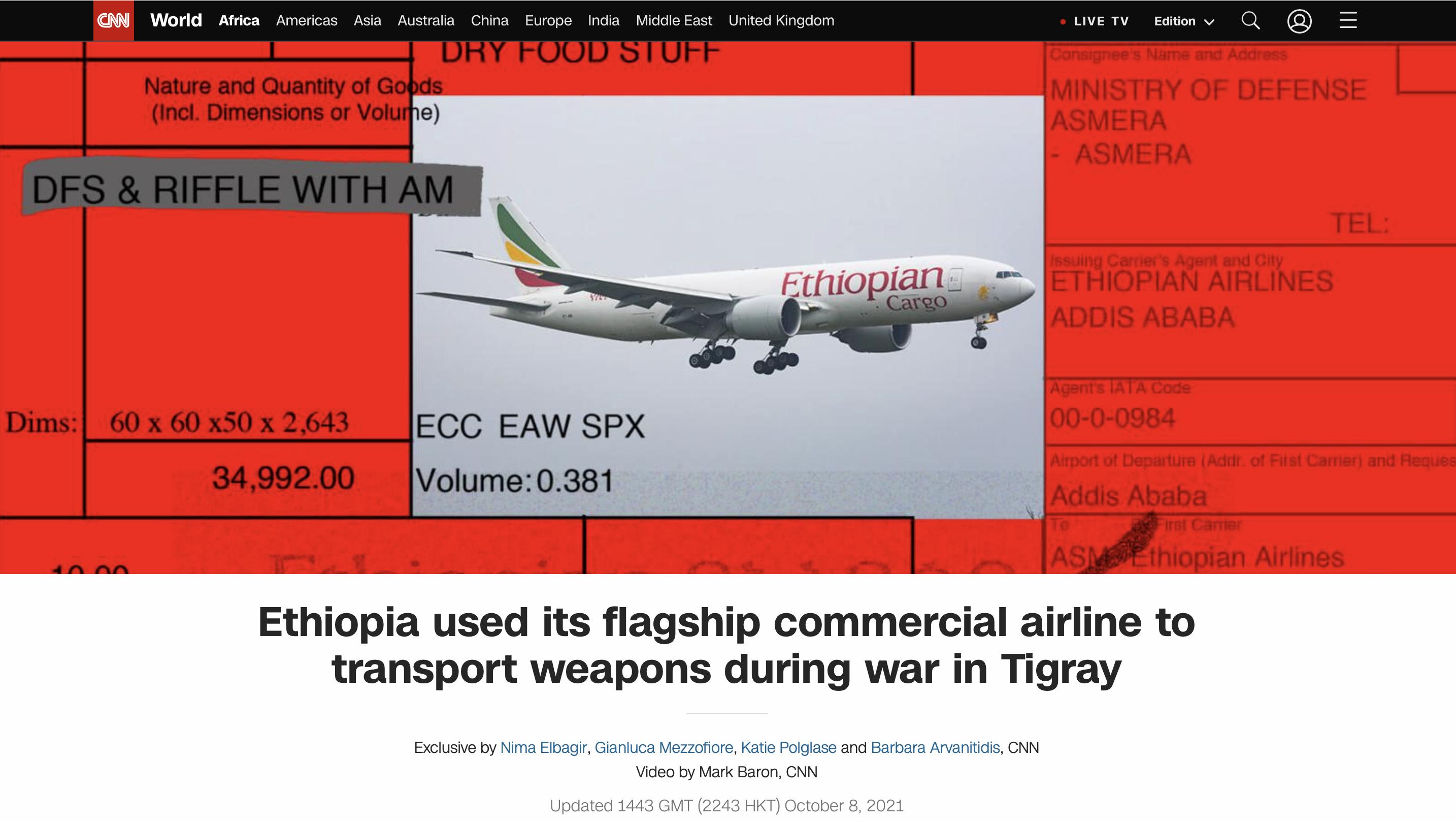 Boycott Ethiopian Airlines